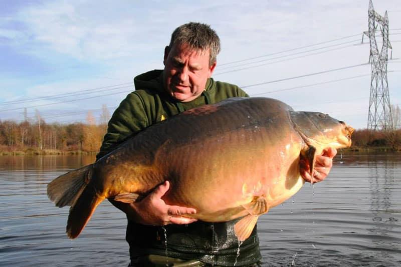 Nouveau record pour les étangs de l'Abbaye : 42,8 kilos 7