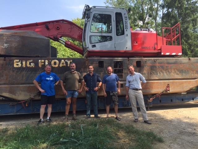L'équipe Big Float Entreprise Mougin