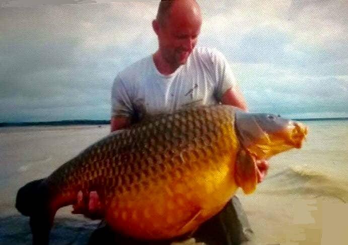 Record commune au lac du Der-Chantecoq : 44 kgs 1