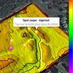 Application Be On Ssil : cartes des fonds des lacs, étangs et fleuves 7