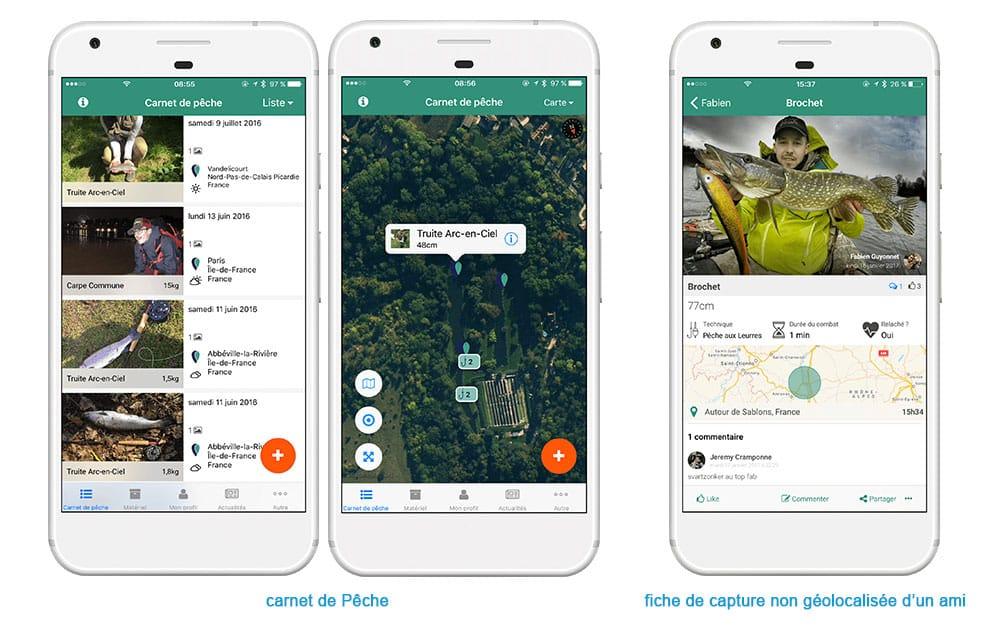FishFriender, un carnet de pêche numérique pour vous aide à mieux pêcher 5