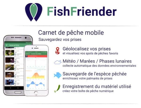 FishFriender, un carnet de pêche numérique pour vous aide à mieux pêcher 2