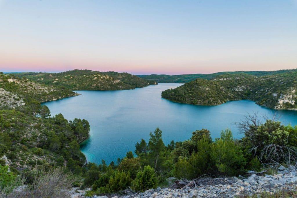 Lac d'Esparron – Grand lac public – Alpes-de-Haute-Provence (04) 1