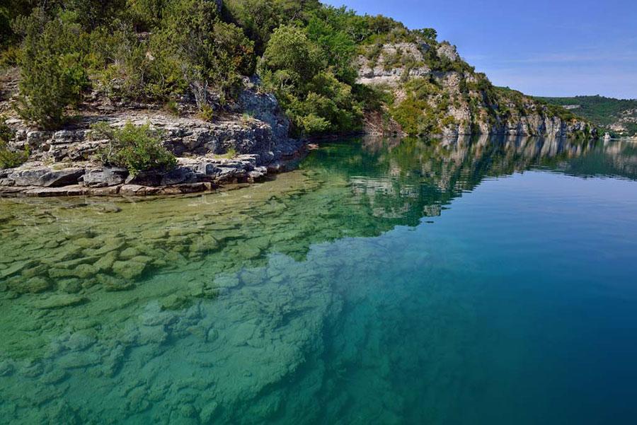 Lac d'Esparron – Grand lac public – Alpes-de-Haute-Provence (04) 2
