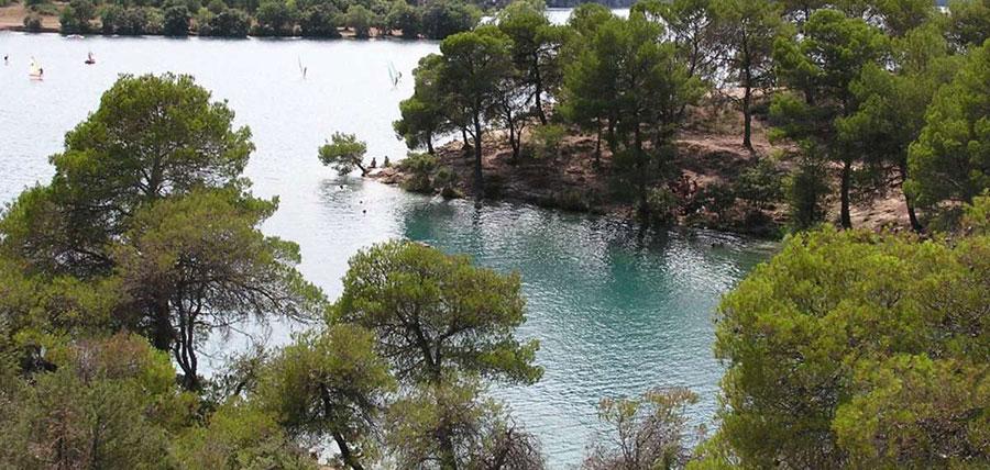 Lac d'Esparron – Grand lac public – Alpes-de-Haute-Provence (04) 3