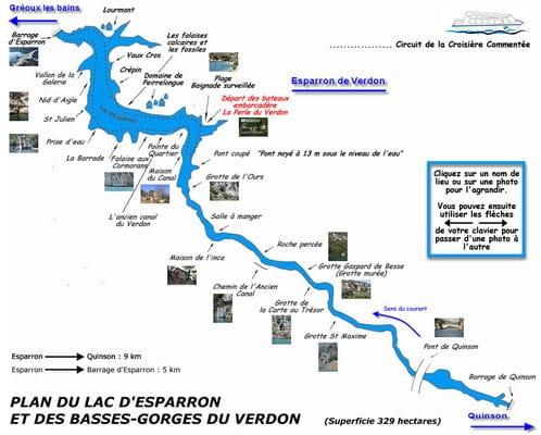 Lac d'Esparron – Grand lac public – Alpes-de-Haute-Provence (04) 4