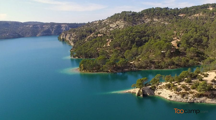 Lac d'Esparron – Grand lac public – Alpes-de-Haute-Provence (04) 5