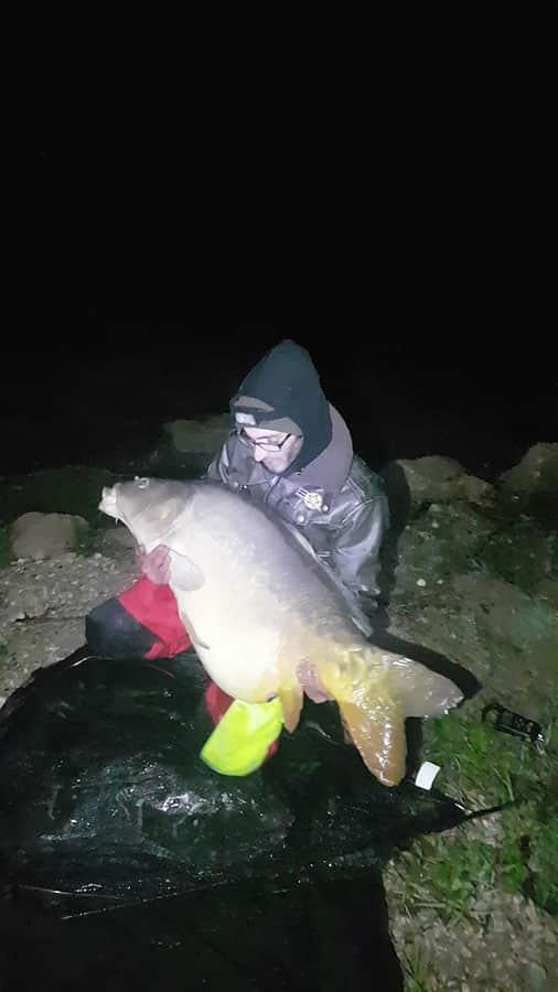 Carpe record au lac de Carcès : miroir de 31,2 kilos 3