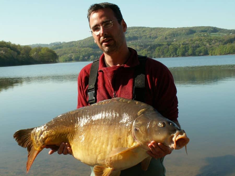 Carpe 19,3 kilos lac de pannecière