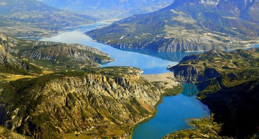 Lac de Serre-Ponçon - Grand lac public - Hautes Alpes (05) 1