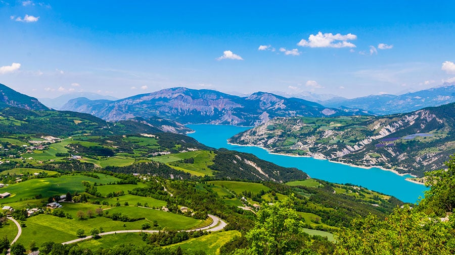 Lac de Serre-Ponçon - Grand lac public - Hautes Alpes (05) 2