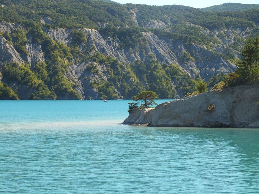 Lac de Serre-Ponçon - Grand lac public - Hautes Alpes (05) 5
