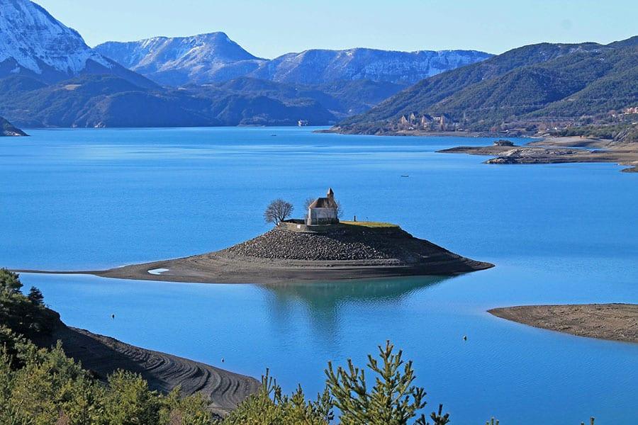 Lac de Serre-Ponçon - Grand lac public - Hautes Alpes (05) 6