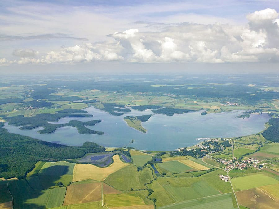Lac de Madine - Grand lac public - La Meuse (55) 1