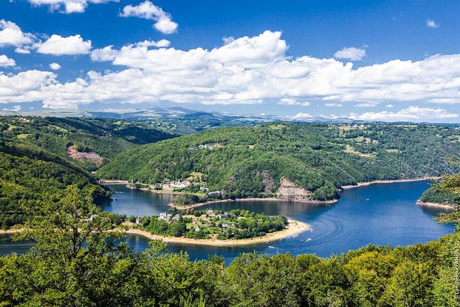Lac de Sarrans – Grand lac public – Aveyron (12) 4
