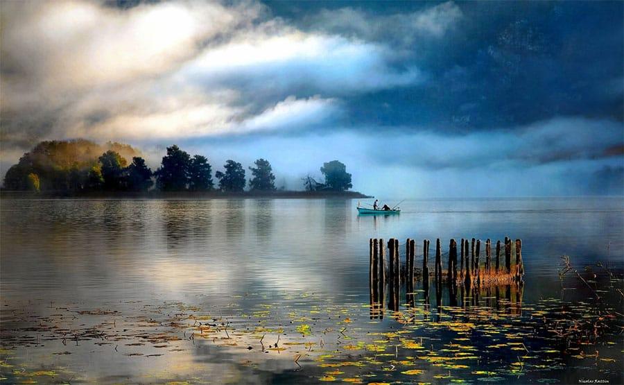 Lac d'Aiguebelette - Grand lac public - Savoie (73) 2