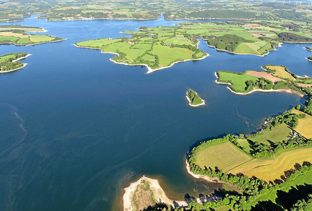 Lac de Pareloup – Grand lac public – Aveyron (12) 1
