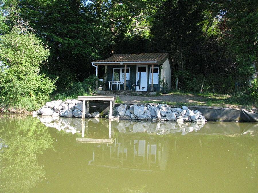 Cabine de pêche du lac de Villedon