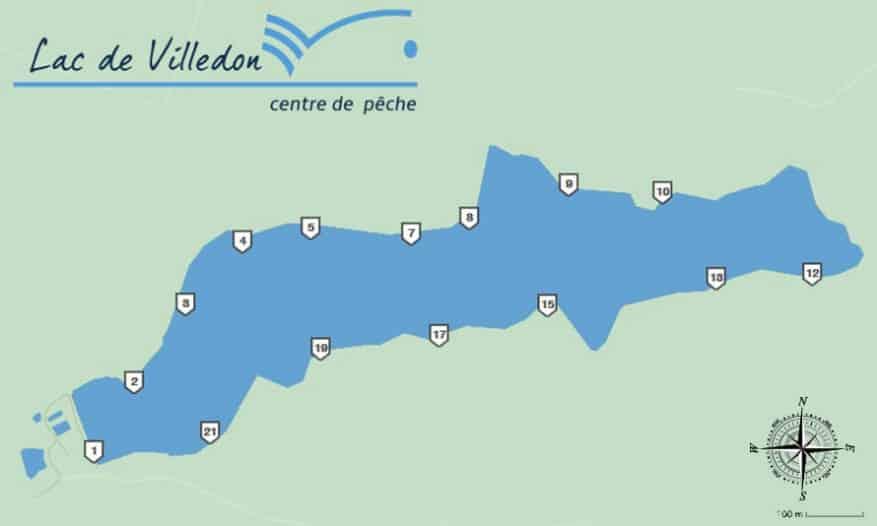 Postes du lac de Villedon