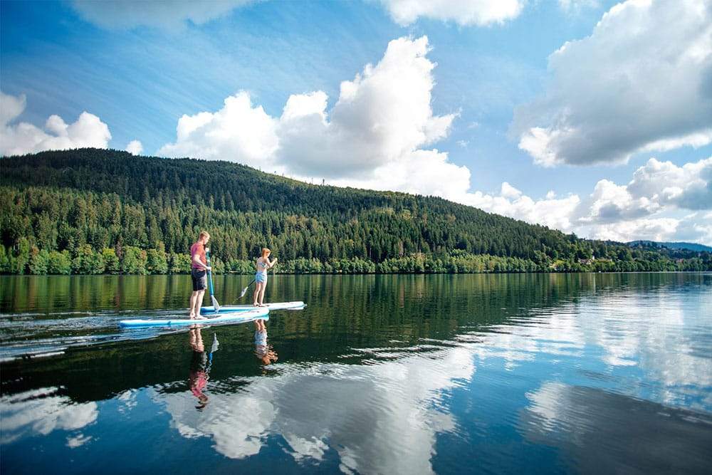 Lac de gerardmer - balade en Canoe kayak