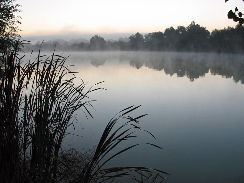 Lac de Graviers à Dijon