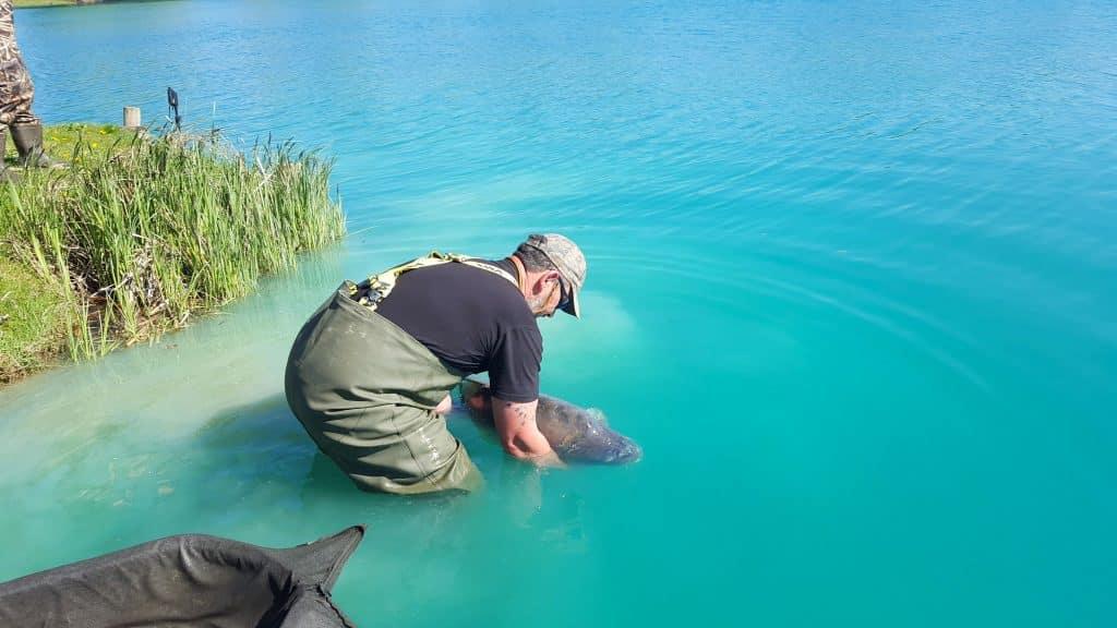 Lac de Graviers - Luke Moffatt Lake - Lac privé - Côte d'Or (21) 7