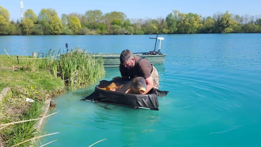Lac de Graviers - Luke Moffatt Lake - Lac privé - Côte d'Or (21) 8