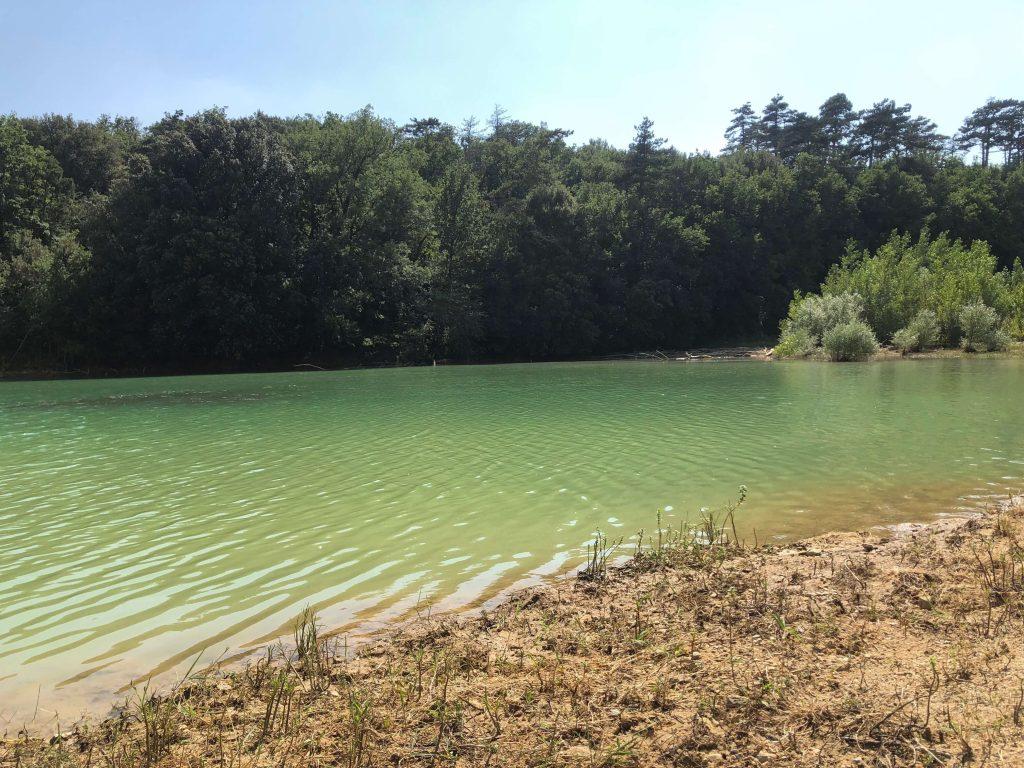 Berge du lac de la Ganguise