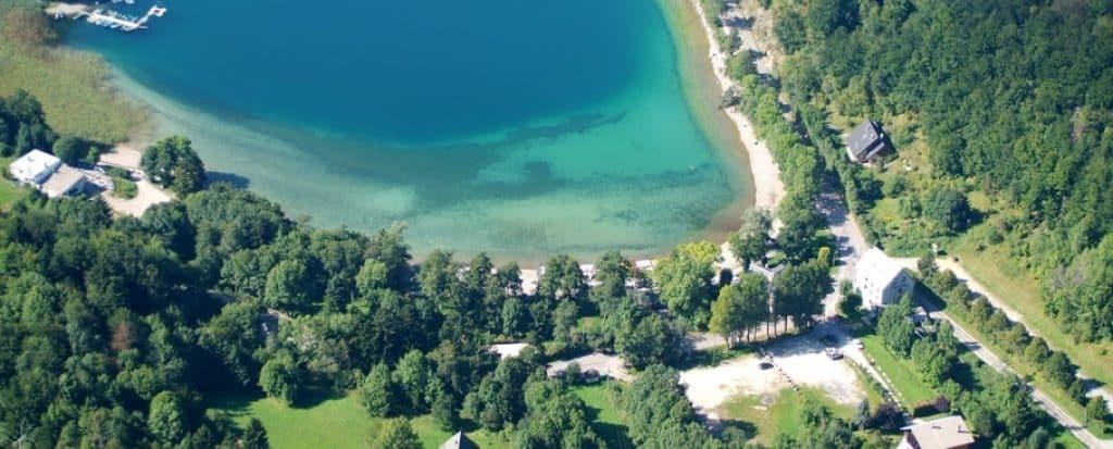 Plage du lac de Laffrey