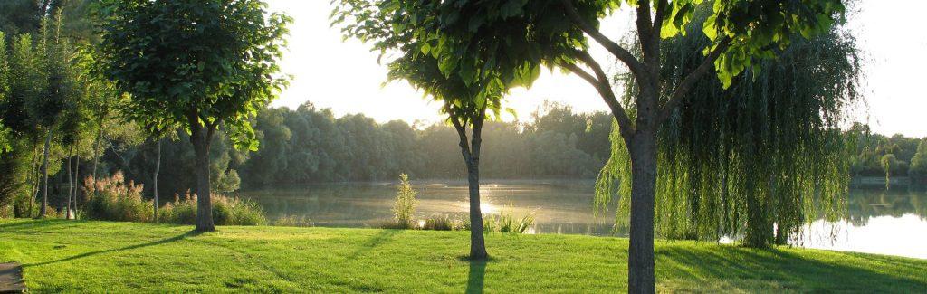 Vue sur le lac de Graviers