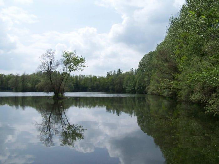 Berge de l'étang de Marco