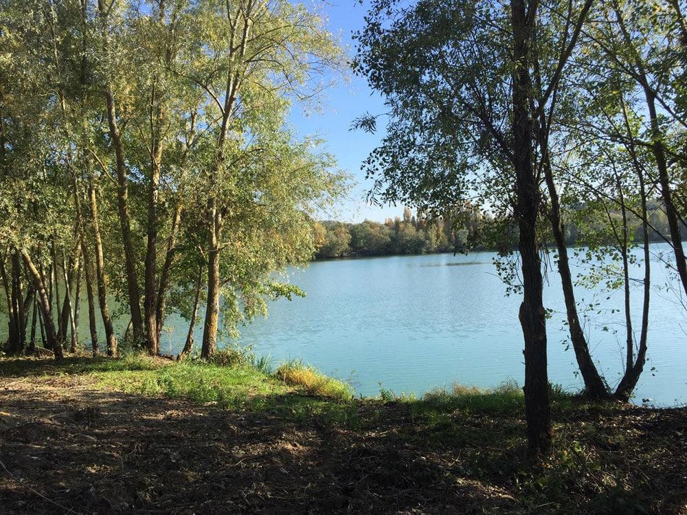 Poste de pêche du Lac du Grand Fontenay