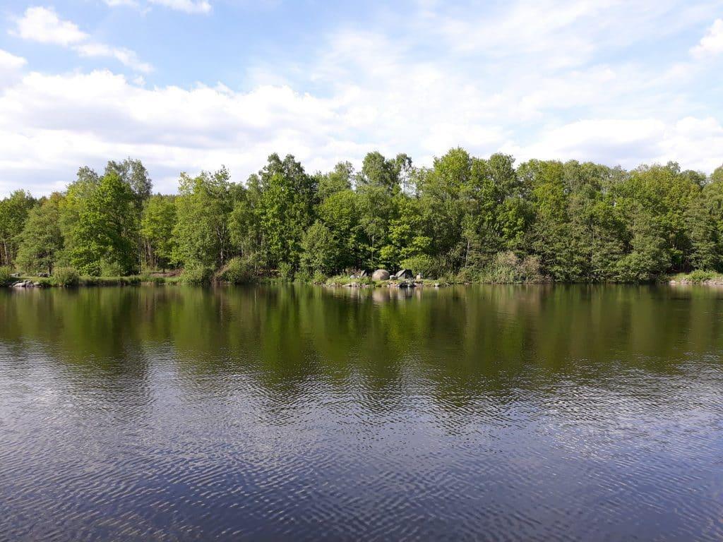 Berge du lac des vieilles forges