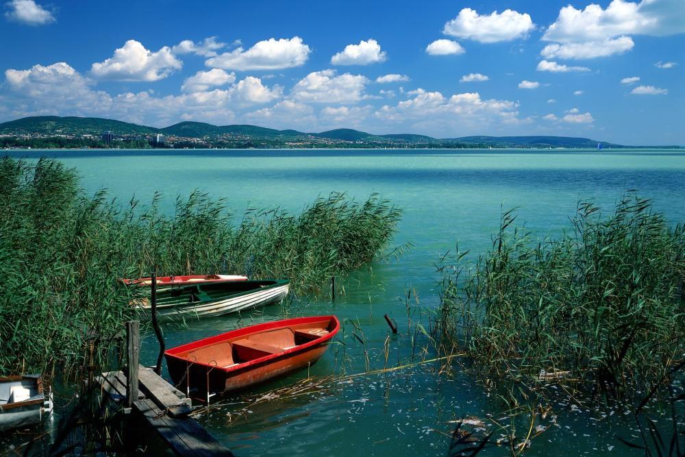 Berge du Lac de Balaton