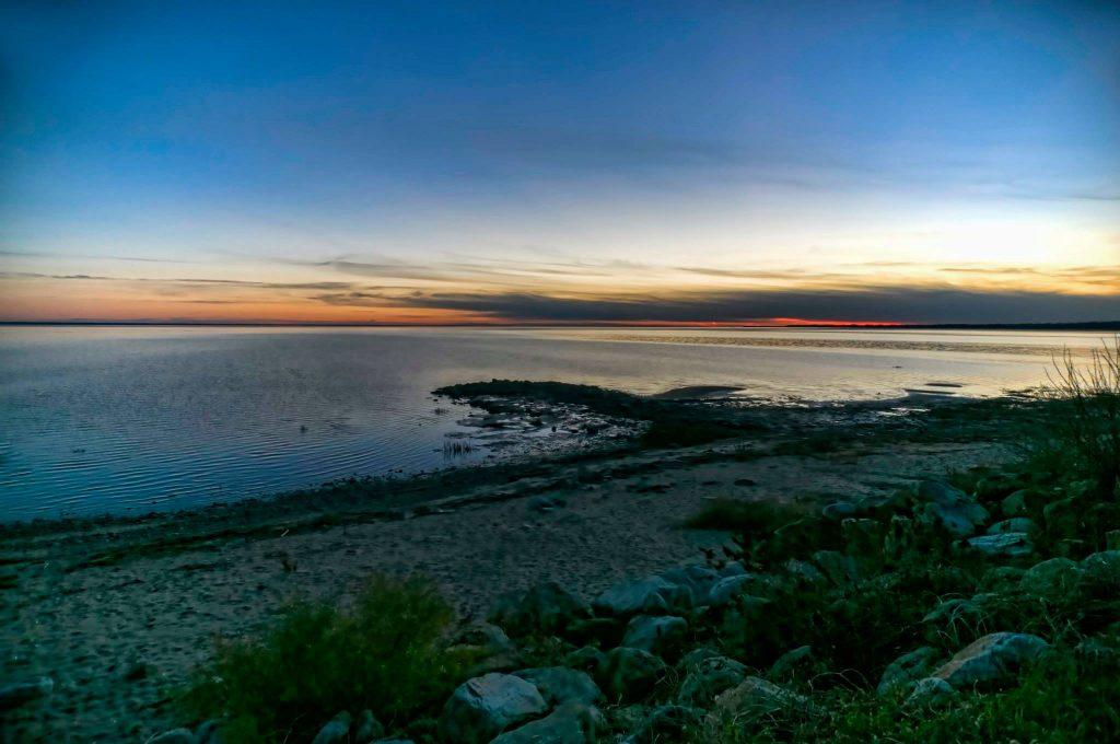 Lac Saint Pierre – Grand lac à l'étranger – Québec - Canada 1