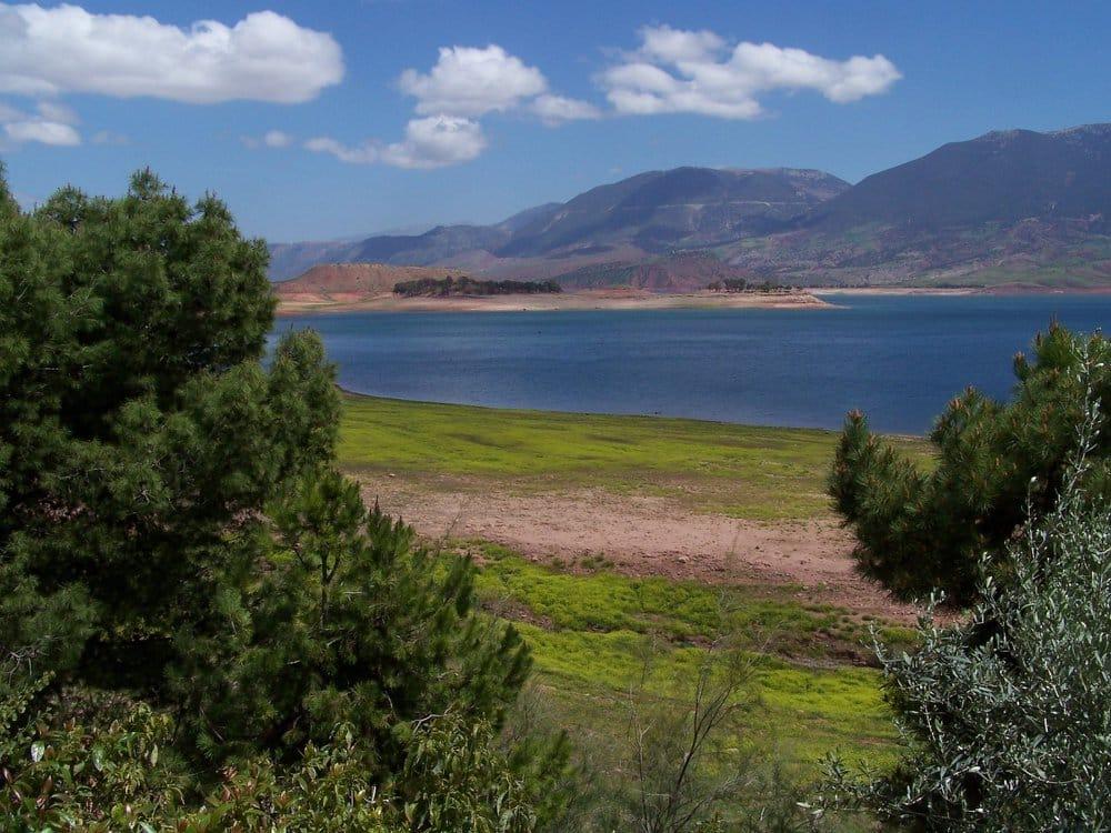 Berge du lac de Bin el Ouidane