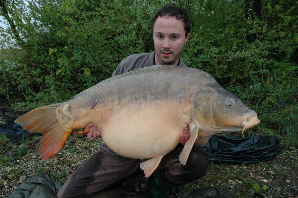 "Carpe miroir ""Nautilus"" 38,200 Kilos – Laurent Panelli 2"