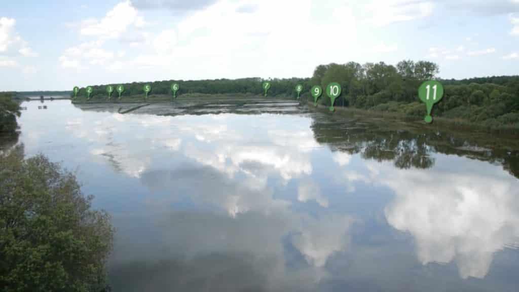 Postes de l'étang de la Horre