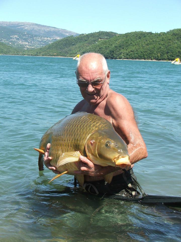 Nouveau record pour le lac de Saint Cassien : une commune de 30,8 kilos (68lbs) 1