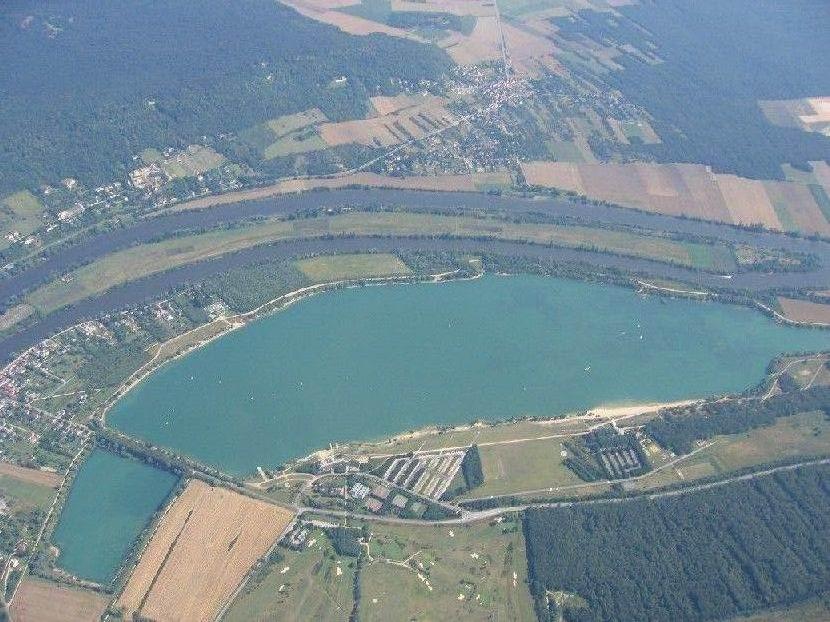 lac de Moisson Lavacourt