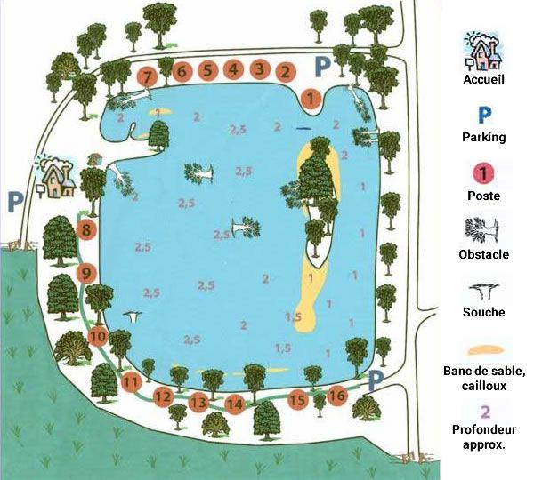 Etang de Vaumigny – Lac privé – Eure et Loir (28) 1