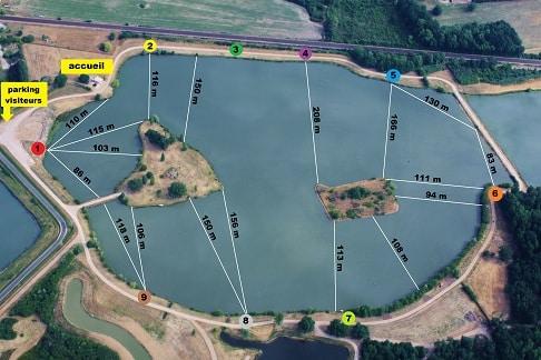 Domaine de la bouage – Lac privé – La Gironde (33) 2