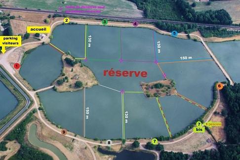 Domaine de la bouage – Lac privé – La Gironde (33) 3