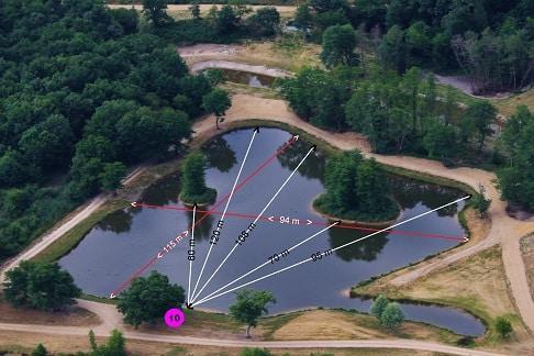 Domaine de la bouage – Lac privé – La Gironde (33) 4