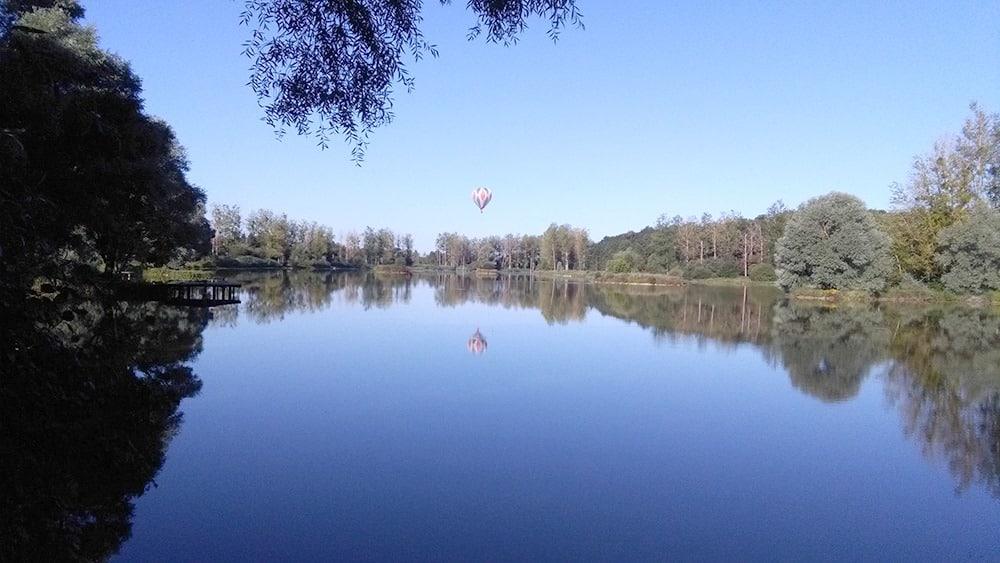Berge de l'étang de Pin