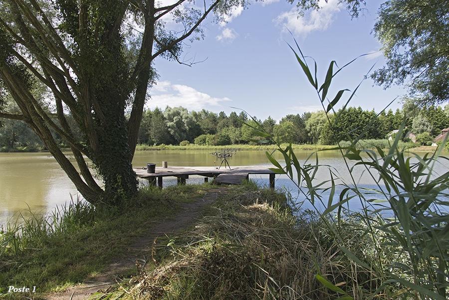Poste 1 de l'étang de Pin