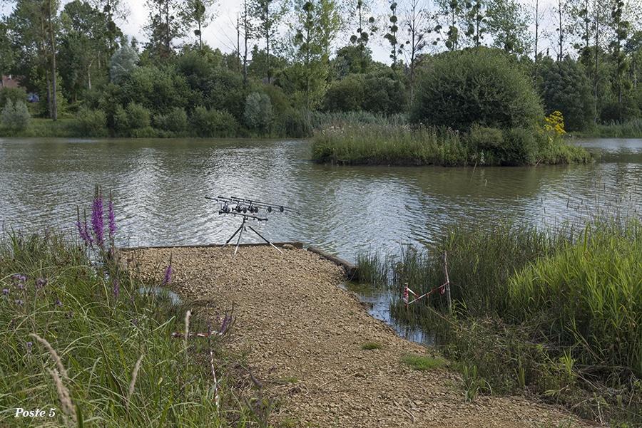 Poste 5 de l'étang de Pin