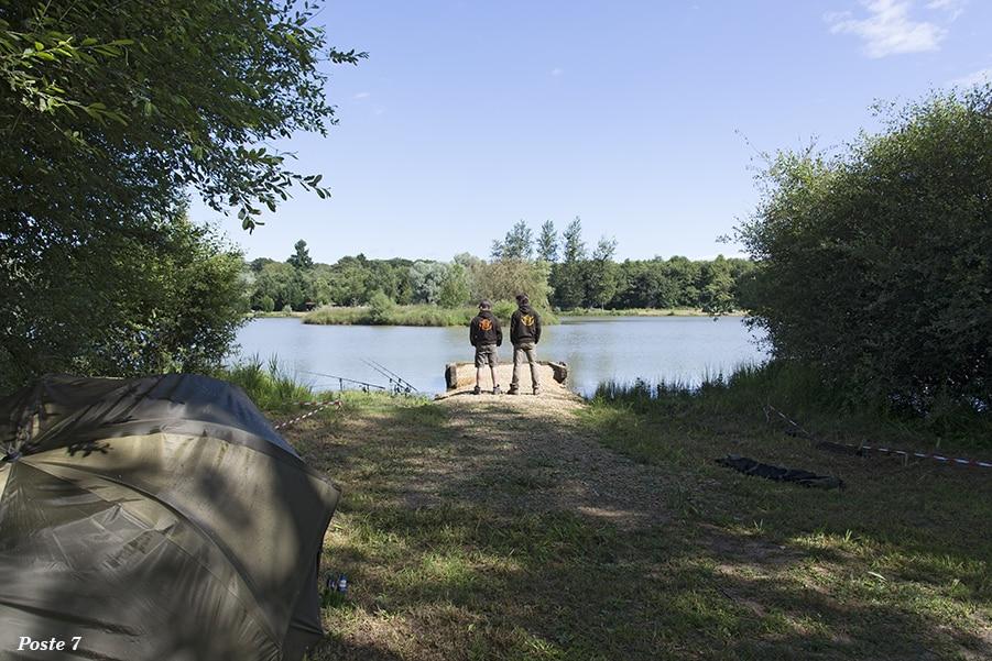 Poste 7 de l'étang de Pin