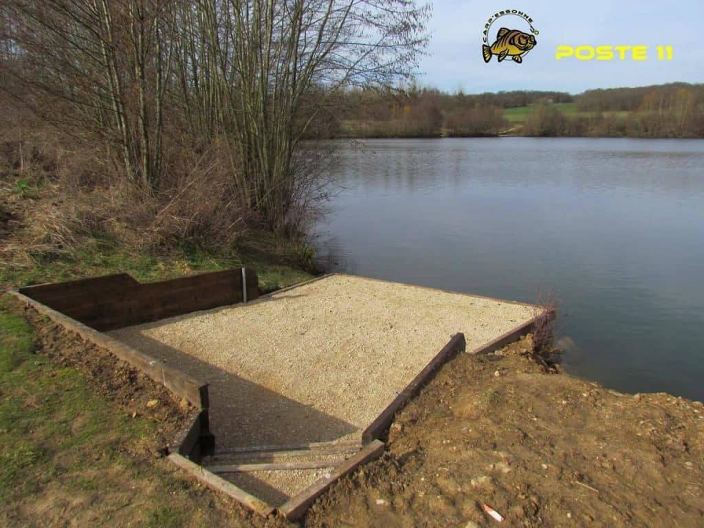 Poste 11 de l'étang Carpanium