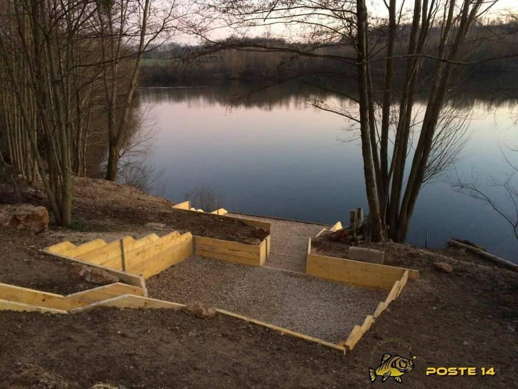 Poste 14 de l'étang Carpanium